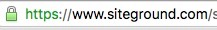 google chrome ssl url bar