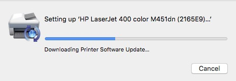 Install Printer Driver Internet Mac