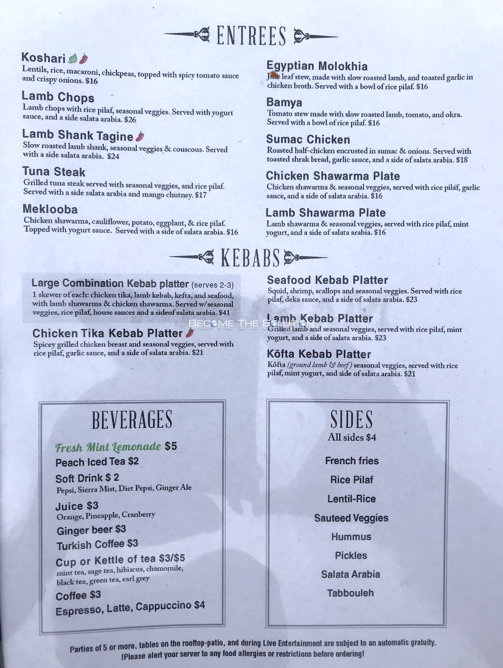 Masada chicago menu 2