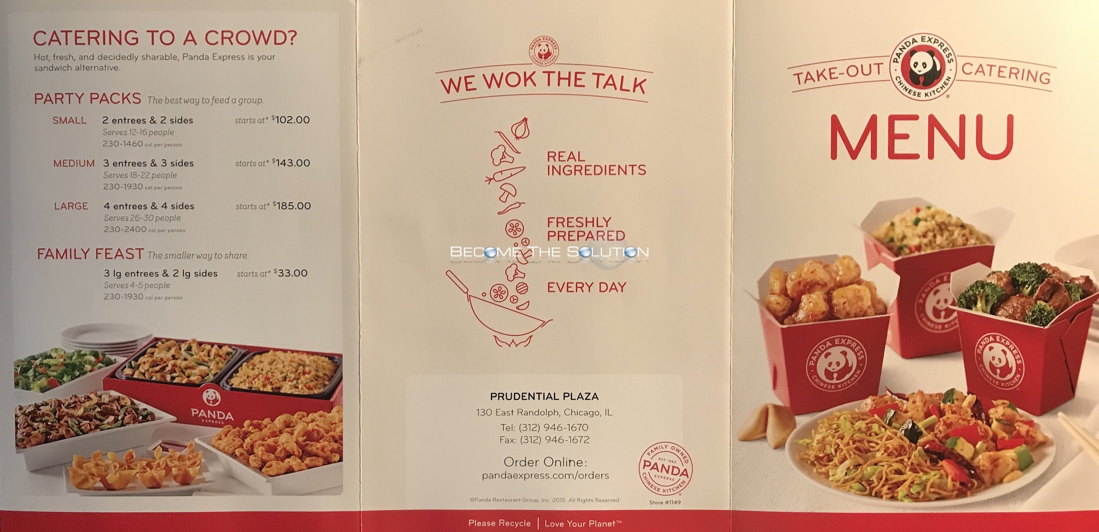 Panda express carry out menu chicago scanned menu with for Carryout menu