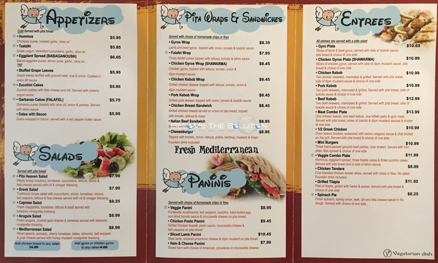 Pita Heaven Chicago Menu 2