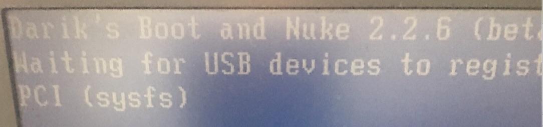 Dariks Boot And Nuke Dban Stuck On Pci Sysfs