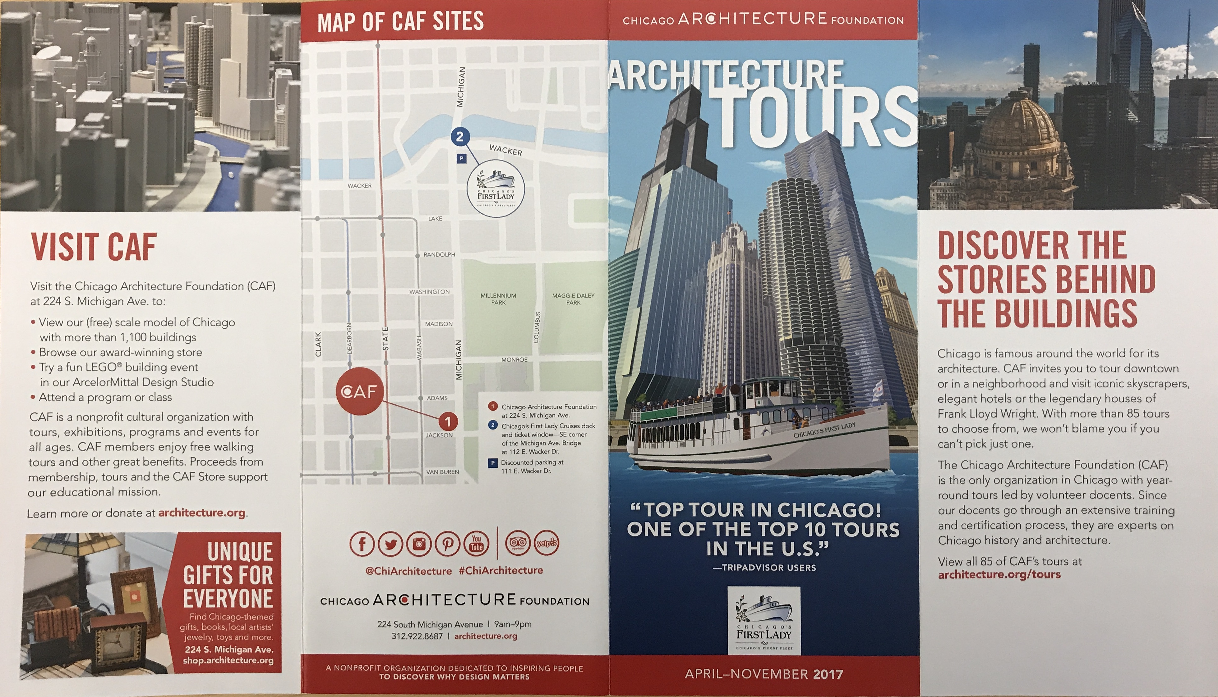 Chicago architecture foundation tours