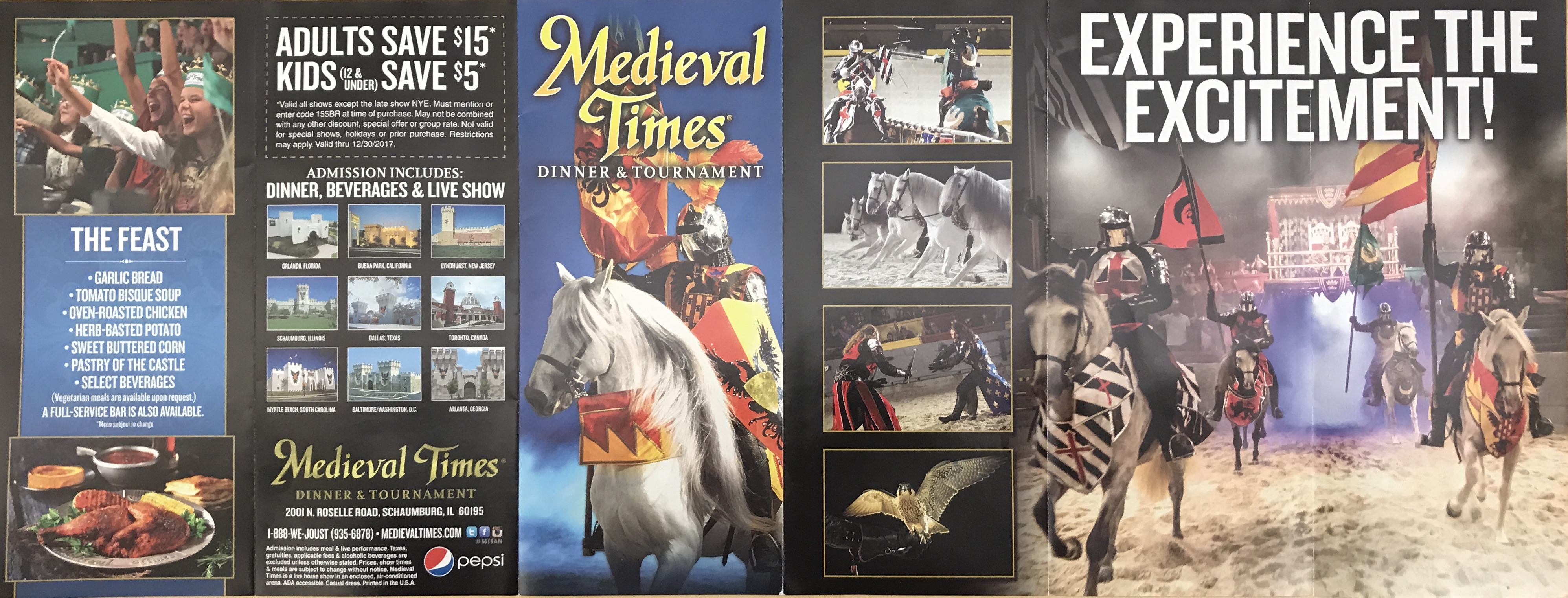 Discover Chicago: Medieval Times Information