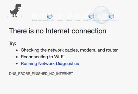 chrome error dns_probe_finished_no_internet