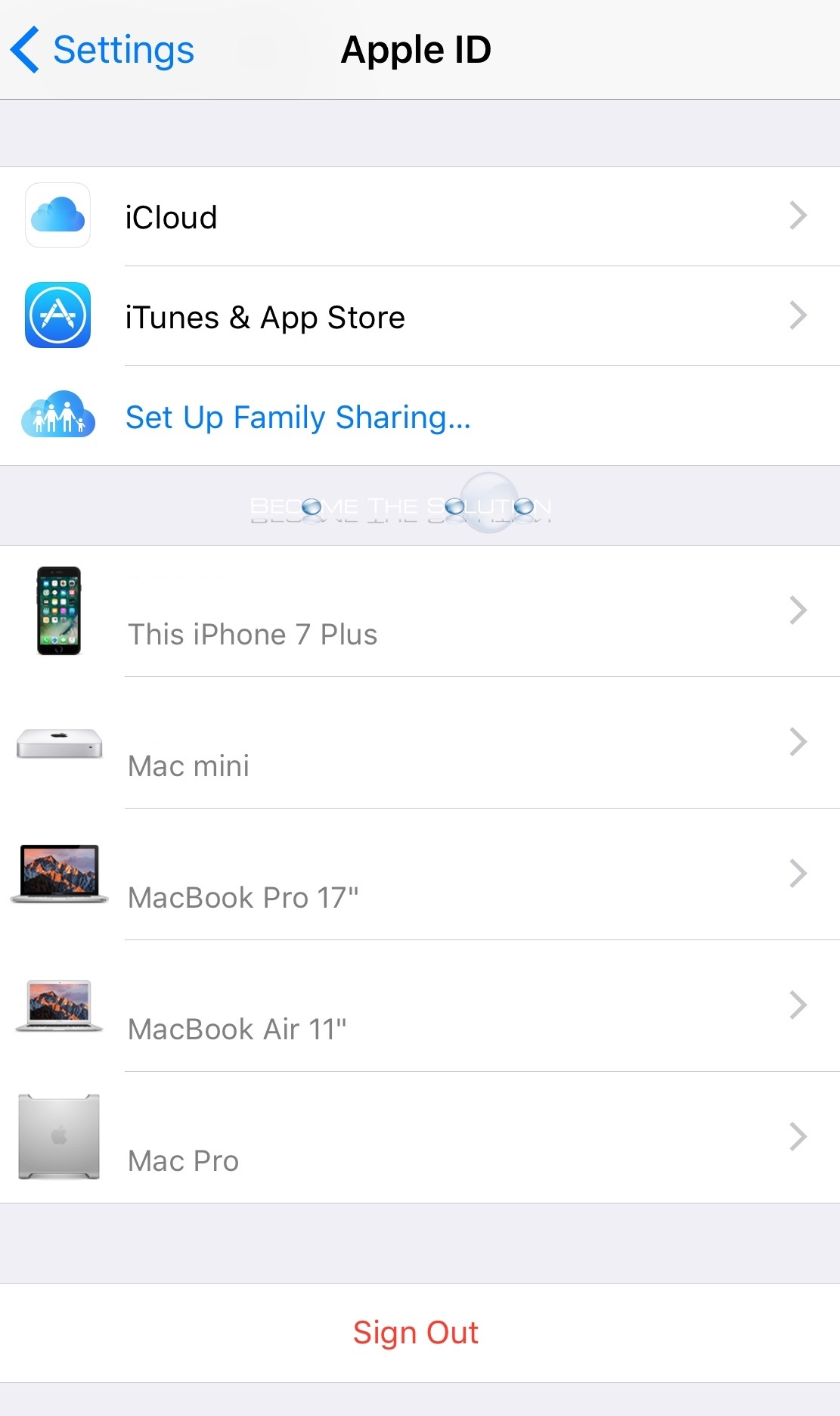 Ios icloud settings manage devices
