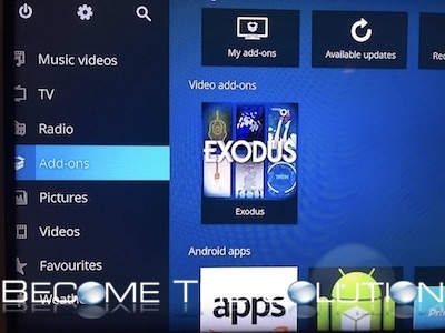 Amazon fire stick tv exodus add on kodi