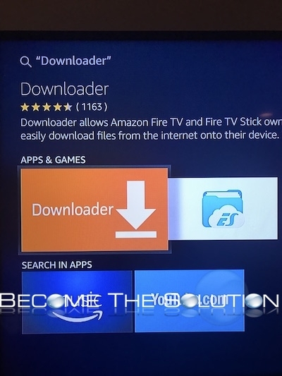 Amazon fire tv stick kodi install downloader
