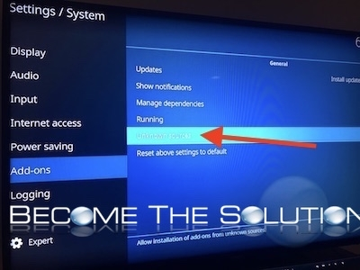 Amazon fire tv stick kodi allow unknown sources install
