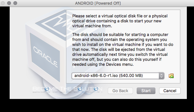 How To: Install Android OS on Virtual Box and Boot from Hard