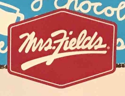 Mrs Fields Cookies Menu