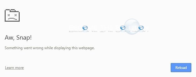 Fix: Aw Snap Something Went Wrong While Displaying this Webpage – Google Chrome