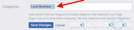 Facebook page enable check-ins