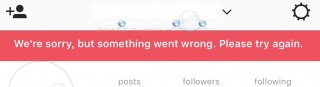 Fix: We're Sorry but Something Went Wrong. Please Try Again – Instagram