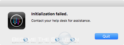 Initialization Failed Citrix Receiver Mac