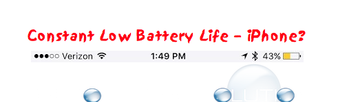 iPhone Check What's Using Battery Life