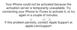 Fix: Your iPhone Could not be Activated Because the Activation Server is Temporarily Unavailable