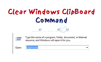 Clear Windows ClipBoard (Troubleshooting Copy/Paste)