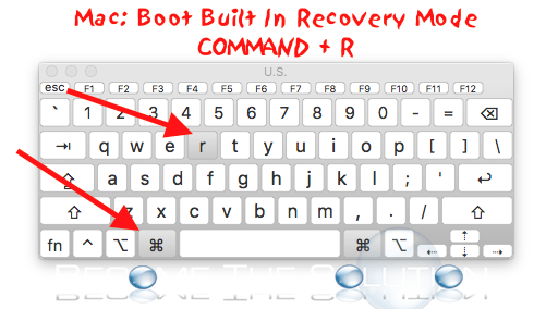 Mac boot built in recovery mode