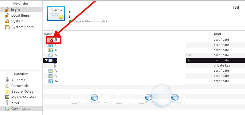 Fix Failed To Verify The Server Certificate Mac Mail