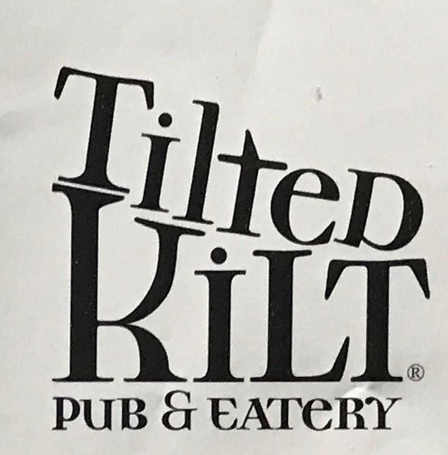 Tilted Kilt Carry Out Menu