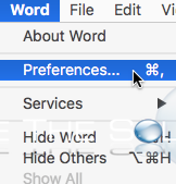Easy: Change Microsoft Word for Mac OS X Auto Save Time