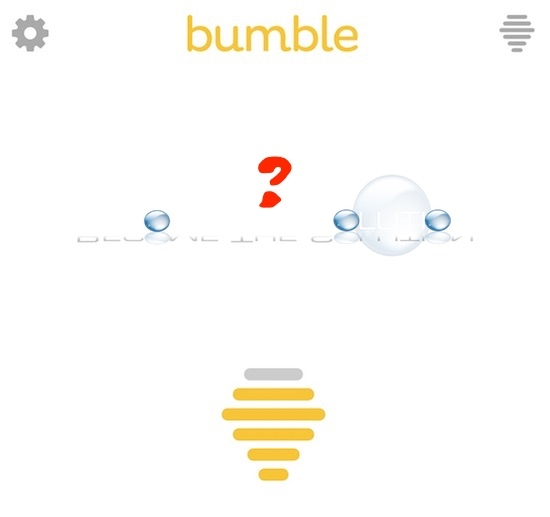 My bumble says no network connection