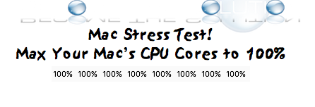 Stress Test Mac OS X