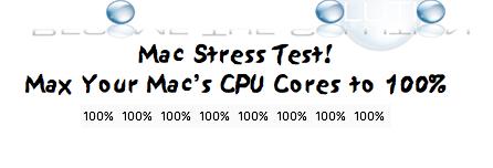 Online cpu stress test