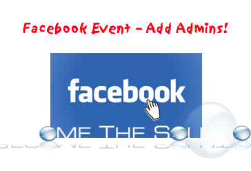 Facebook Event Make Admins