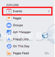 Facebook profile events