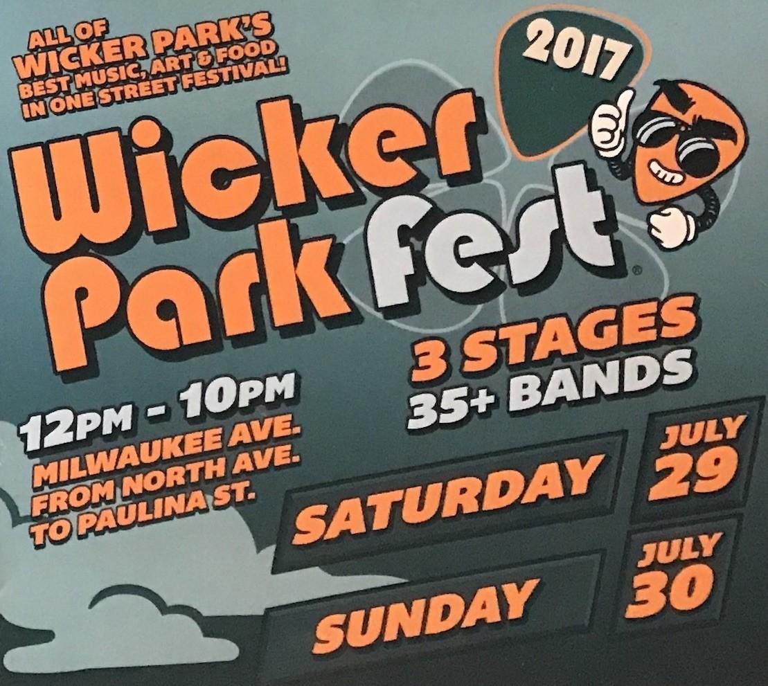 Wicker Park Fest 2017 Dates