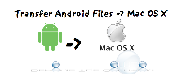 How to Transfer Files from Android to Mac OS X via USB