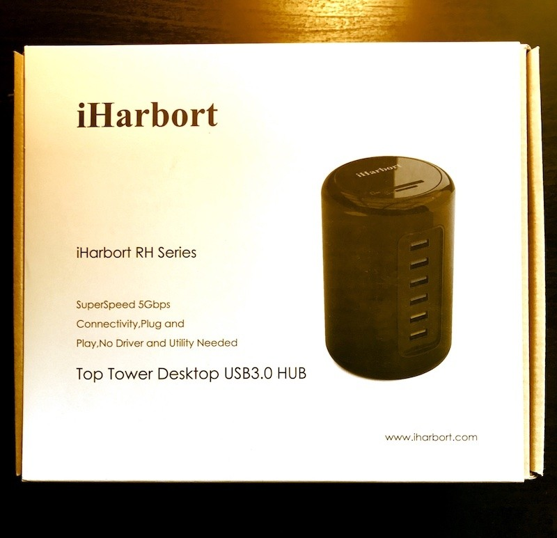 Review Best USB 3.0 Tower 6-Port Ultra-Fast Hub – iHarbort