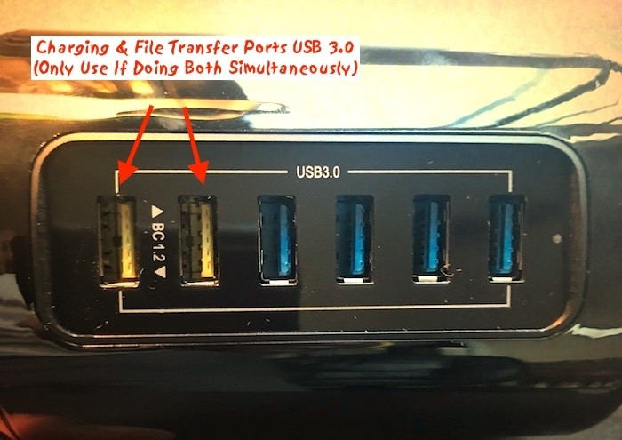 Review usb 3.0 tower iharbort ports