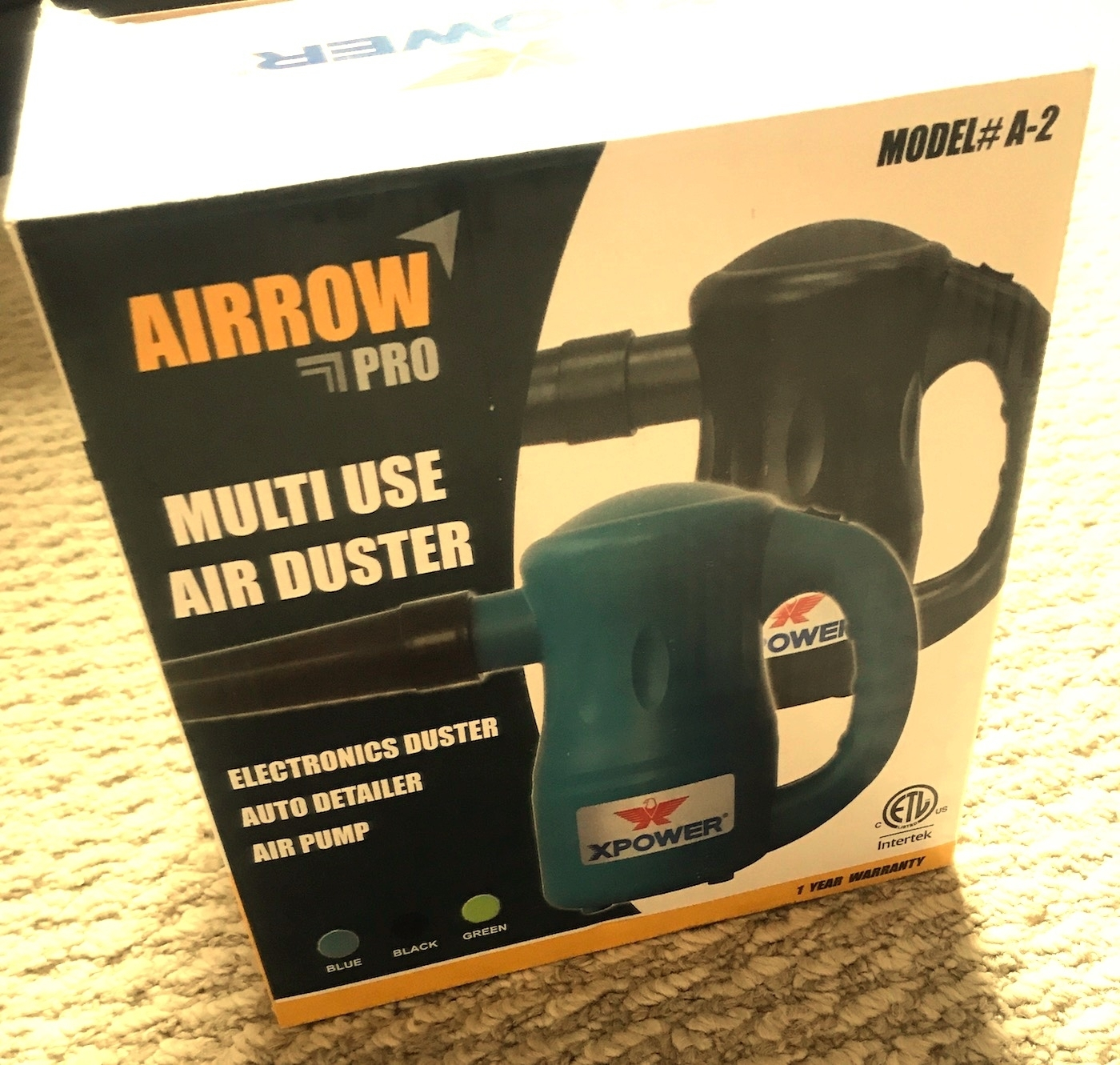 Review Best Cheap Reliable Electric Air Duster - XPOWER A-2 Airrow Pro Air Blower