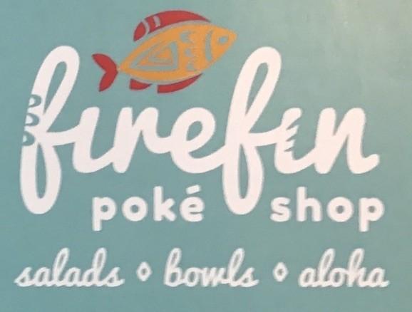 FireFin Poke Shop Menu Chicago