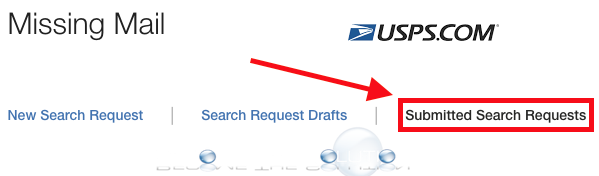 How To Find USPS Submitted Search Requests Lost Mail