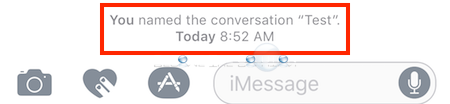 imessage notification group name change