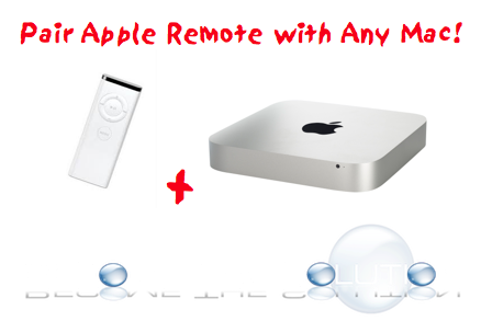 Easy: Pair Apple Remote to Mac Mini (Any Mac)