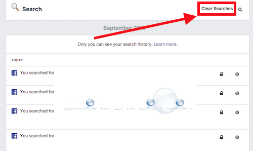 Easy: How to Clear Facebook Recent Searches