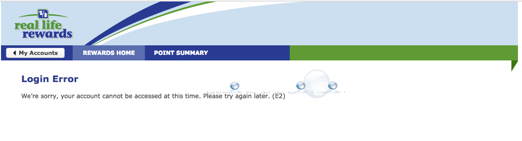 Your Account Cannot Be Accessed at this Time. Please Try Again Later. (E2) – Fifth Third