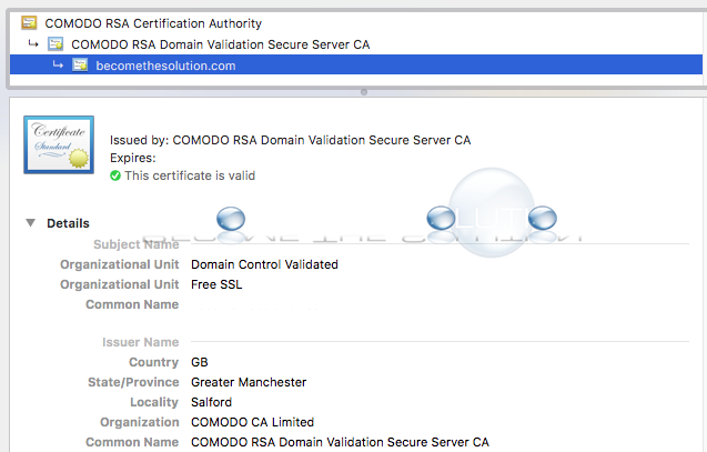 Easy: Generate Free Fully Functional SSL Certificate for