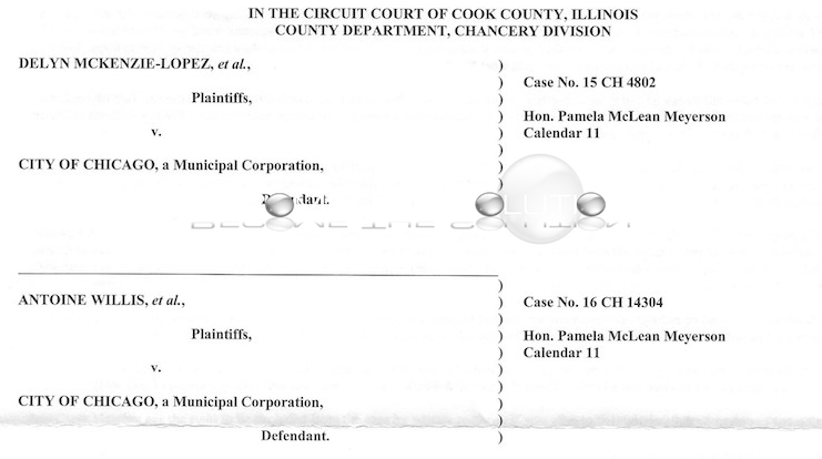 News: McKenzie-Lopez v City of Chicago Case No. 15 CH 4802 Claim Form - Red Light Violation Notice