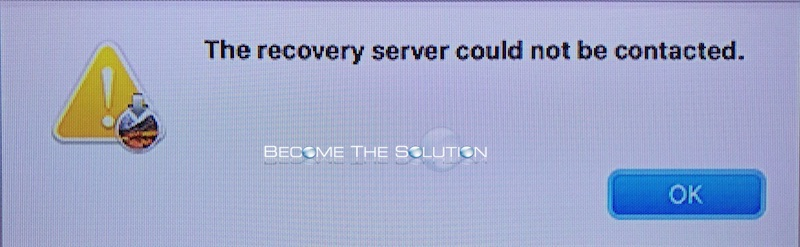 Fix: The Recovery Server Could Not Be Contacted – Mac OS Sierra