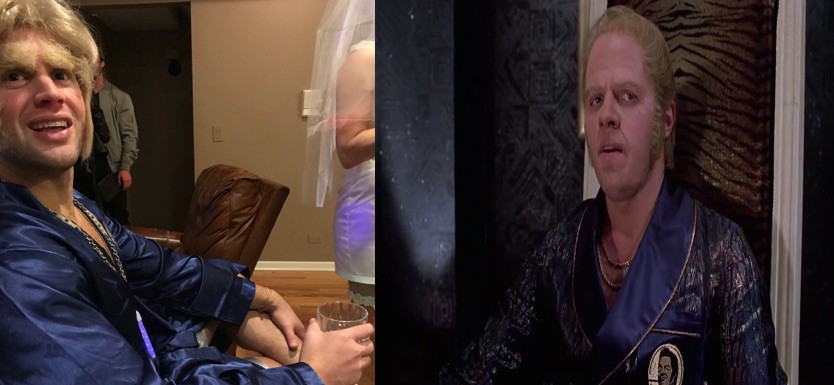Biff tannen side by side costume