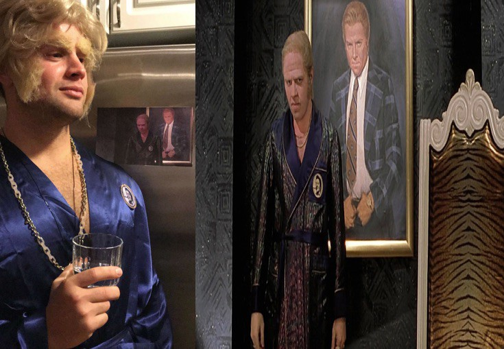 Biff Tannen Halloween Costume Robe (Biffco Pleasure Paradise)