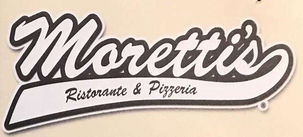 Moretti's Pizza Menu