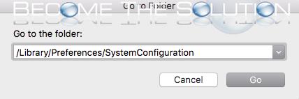 Mac high sierra network preferences files