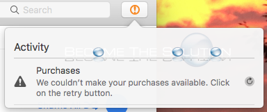 Why: We Couldn't Make Your Purchases Available – iTunes